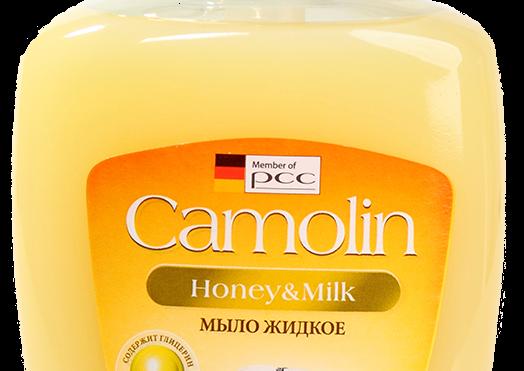 Жидкое мыло Camolin Honey&Milk
