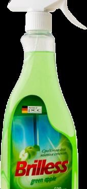 Средство для мытья стекол и зеркал Brilless Green Apple
