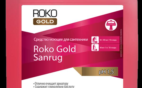 """Средство моющее для сантехники """" Roko Gold Sanrug"""""""