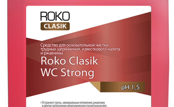 """Средство моющее для сантехники """" Roko Clasik WC Strong"""""""