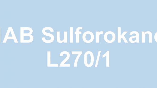 Sulforokanol L270/1