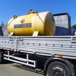 Перевозка  азотной кислоты