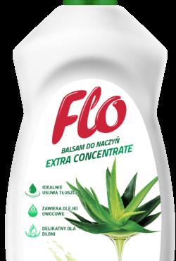 Бальзам концентрированный для мытья посуды Flo Aloe Vera.