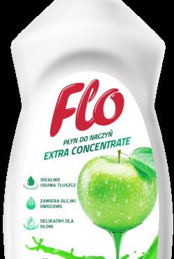 Средство концентрированное для мытья посуды  Flo Green Apple