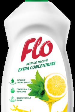 Средство концентрированное для мытья посуды Flo Lemon&Mint.