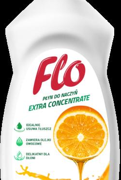 Средство концентрированное для мытья посуды Flo Orange