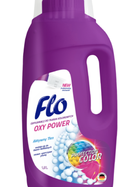 FLO Oxy Power Пятновыводитель для цветных тканей