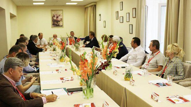 Заседание Ассоциации польского бизнеса в Республике Беларусь