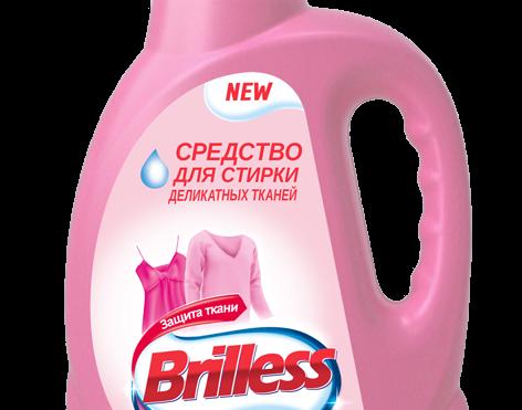 Средство моющее синтетическое Brilless для деликатных тканей Soft