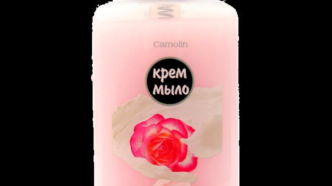 Крем-мыло Camolin роза с протеинами молока и витаминами А,Е,F